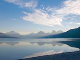 zP1010685 Wildfire smoke hazes morning mountains at Lake Macdonald in Glacier National Park.jpg