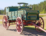 zP1010811 Horsedrawn wagon from Helena resting near West Glacier Montana.jpg