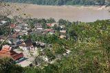 View of Luang Prabang.