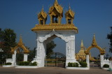 Entrance to Pha That Luang, Vientianne
