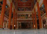 Wihaan  interior, Wat That Luang Tai