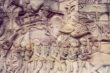 Angkor carvings