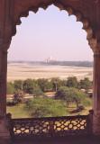 The Taj Mahal from upriver