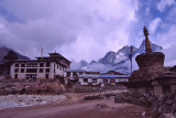 Thangboche monastery.
