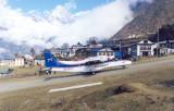 Lukla airstrip.