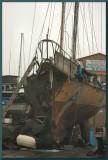 Dry Dock Sail Boat