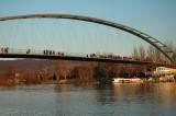 Bridge from France (Huningue) to Germany