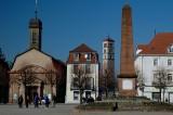 Huningue - Place Abbatucci