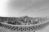 From city wall with fisheye