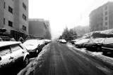 Tehran in a Winter Day