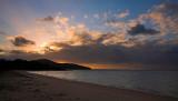 Punsand Bay cloudscape at sunset