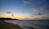 Cape York Punsand Bay beach at dusk