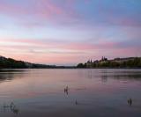Purple Cloudscape at Lake Peblinge