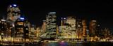 Sydney Circular Quay at night