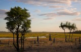 Hawk Dreaming sunset view from mushroom rock