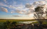 Hawk Dreaming sunset view from mushroom rock 2