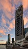 Brisbane highrise reaching for the sky