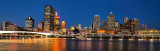 Brisbane Cityscape panorama - from South Bank