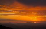 Mountain sunset cloudscape 3