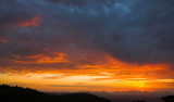 Mountain sunset cloudscape 4