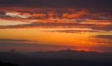Mountain sunset cloudscape 5