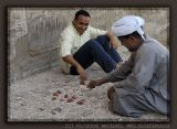 Playing Checkers at Luxor Temple
