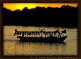 Motor Boat on River Nile