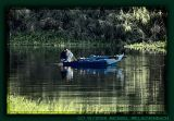 Fishing on River Nile near Crocodile Island
