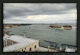 View from the Campanile to San Giorgio Maggiore and the Lido