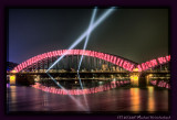 Decorated Hohenzollern Bridge