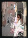 Street Scene in Collioure, Roussillon, France