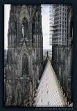 Above the central nave of Cologne Cathedral