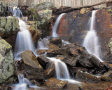 Snow Melt Waterfall