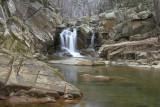 Scotts Run Waterfall & Snow