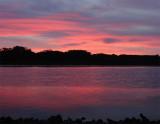 Elkhorn Slough Sunset. - Christmas Eve, 2006