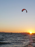 Kitesurfing the Bay