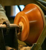 Last time on the lathe