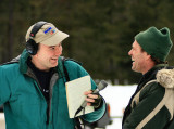 Radio Reporter Interviews Mark Stamm