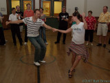 Kevin and Sarah Lindy Hop Workshop, June 2007