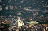 St Sava Temple and FC Partizan Stadium
