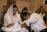 Jewish circumcision ceremony