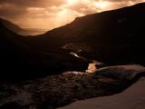 Flowing Into The Borgarfjordur Fjord