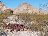 Rhyolite Rusting Away