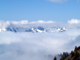 Olympus Between the Clouds