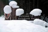 Sol Duc Snow