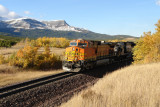Autumn Crossing at West Bison, MT
