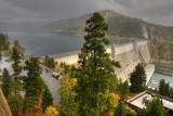 Rain and Shine at Libby Dam