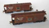SP C-40-5 class cabooses