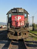 EMD SD40M-2  SP 8613