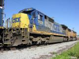 GE C40-8  CSX 7628